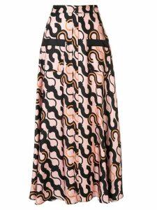 Layeur Fitzgerald pyjama button skirt - PINK