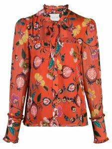 Alexis Elodie floral print top - Red