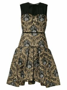 Paule Ka brocade cocktail dress - Black
