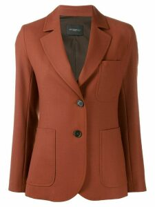 Antonelli Freddy tailored blazer - Orange