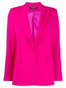 Styland tailored peaked lapel blazer - PINK