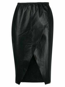 Something Wicked Lexi leather skirt - Black