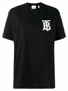 Burberry TB logo T-shirt - Black