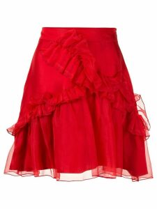 Macgraw Souffle Skirt - Red