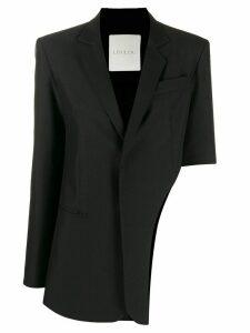Loulou side cut out blazer - Black