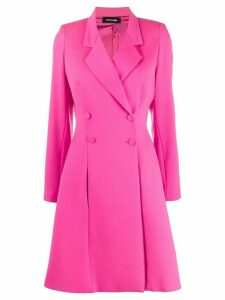 Styland double breasted coat - PINK