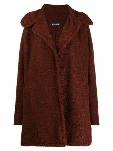 Styland oversized teddy coat - Brown