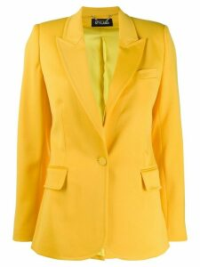 Styland peaked lapel fitted blazer - Yellow