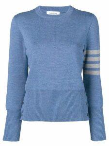 Thom Browne 4-Bar Milano Pullover - Blue
