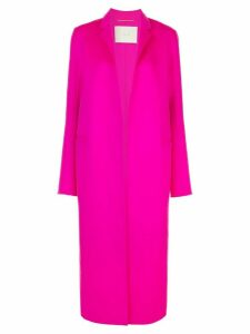 Adam Lippes oversized open-front coat - PINK