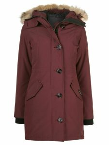 Canada Goose Ladies Rossclair Parka - Red