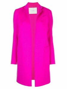 Adam Lippes open-front cashmere midi coat - PINK