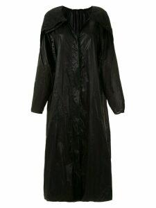 Mara Mac oversized coat - Black