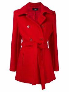 Paule Ka short trench coat - Red