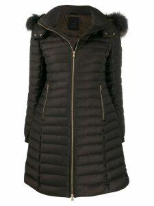 Tatras zipped hooded parka coat - Brown