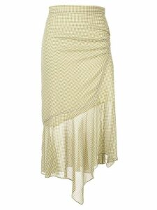 CAMILLA AND MARC gathered asymmetric skirt - Green