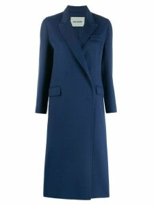 Ava Adore single breasted coat - Blue