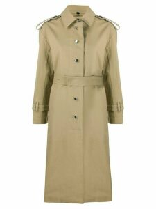 Proenza Schouler belted trench coat - NEUTRALS
