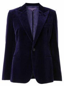 Ralph Lauren Collection velvet blazer - Purple