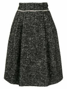 Dolce & Gabbana high-rise pleated skirt - Black