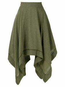 Olympiah Violette midi skirt - Green