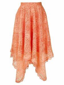 Olympiah Petale lace skirt - ORANGE