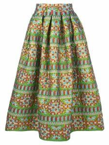 Rianna + Nina Michaela mix pattern skirt - Multicolour