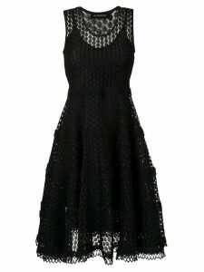 Olympiah Lamier flared dress - Black