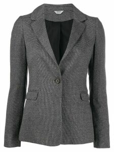 LIU JO lunga single breasted blazer - Grey
