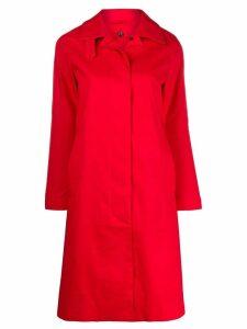 Mackintosh Dunkeld rainproof coat - Red