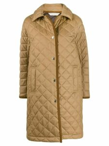 Mackintosh Rhynie quilted coat - Brown