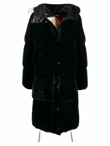 Hilfiger Collection padded velvet coat - Blue