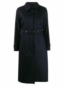 Mackintosh Nelson trench coat - Blue