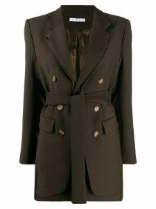 Rejina Pyo Elliot tie waist blazer - Green