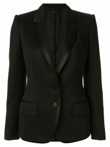 Tom Ford contrast trim blazer - Black