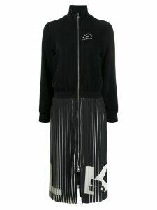 Karl Lagerfeld Rue St Guillaume pleated dress - Black