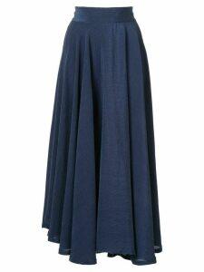 Kitx Tencel Crinkle Circle Skirt - Black