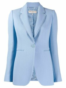 Emilio Pucci double lapel tailored blazer - Blue