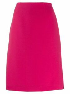 Emilio Pucci side slit pencil skirt - Pink