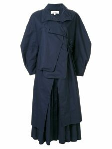 Enföld layered midi dress - Blue