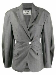 Acne Studios voluminous double-breasted blazer - Grey