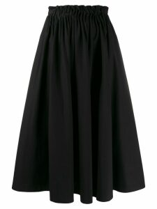 Marni gathered waist midi skirt - Black