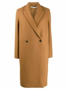 Stella McCartney double-breasted wool coat - NEUTRALS