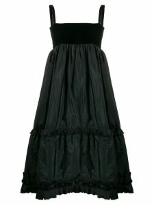 Yves Saint Laurent Pre-Owned 1970s tiered dress - Black