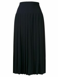 Chanel Pre-Owned 1990s pleated midi skirt - Blue