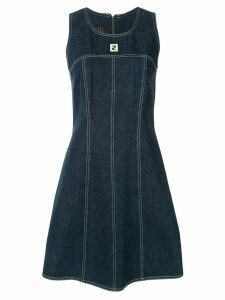 Fendi Pre-Owned sleeveless denim dress - Blue