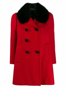 Dolce & Gabbana Pre-Owned double-breasted coat - Red