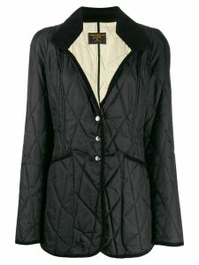 Vivienne Westwood Pre-Owned 1990s diamond quilted padded coat - Black