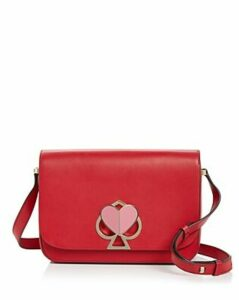kate spade new york Medium Flap Leather Shoulder Bag