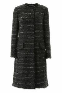 Dolce & Gabbana Tweed And Lurex Coat